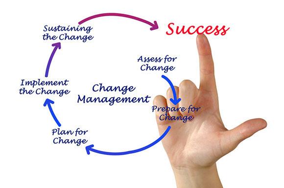 Change management process case study